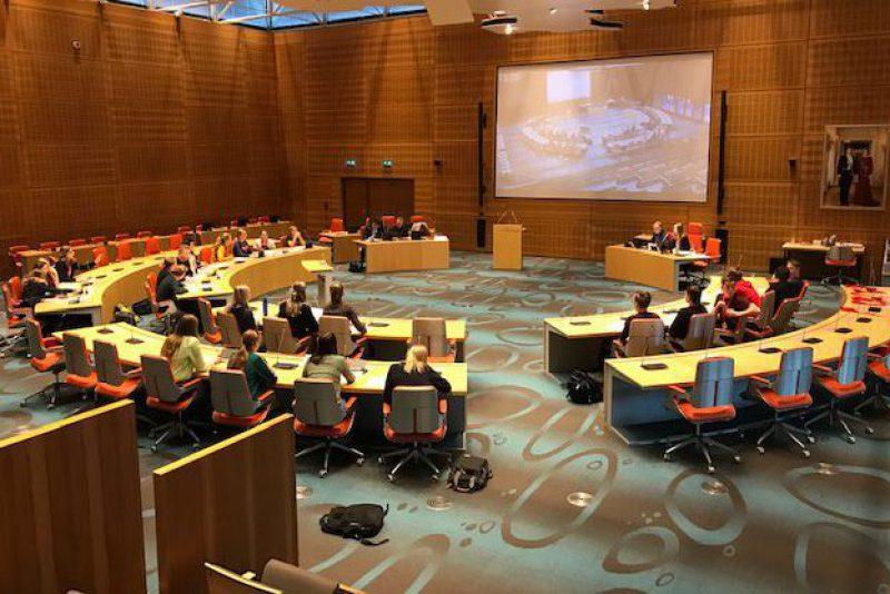 Verkiezingsdebat Agnieten College in Statenzaal